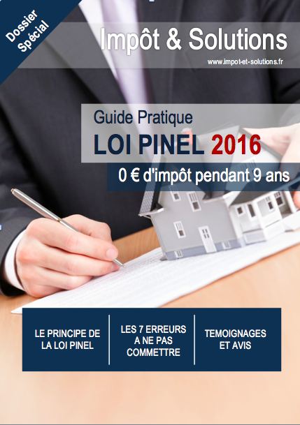 Guide Loi Pinel 2016
