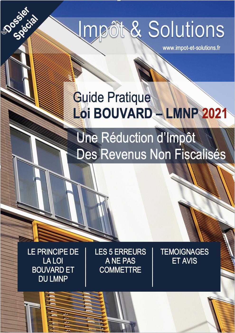 Guide Loi Bouvard LMNP 2021