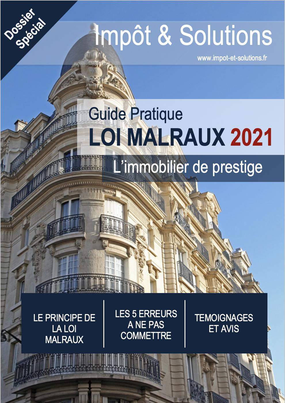 Guide Loi Malraux 2021